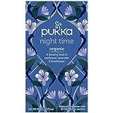 Pukka Herbs Night Time, Organic Herbal Tea with Lavender, 20 Tea Bags (Pack of 1)