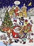 Confiserie Heidel Adventskalender Weihnachten unter Freunden, 1er Pack (1 x 75 g)