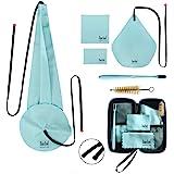 Imelod Kit di pulizia per sassofono con custodia per flauto per clarinetto tenore alto e altri strumenti a fiato e vento incl