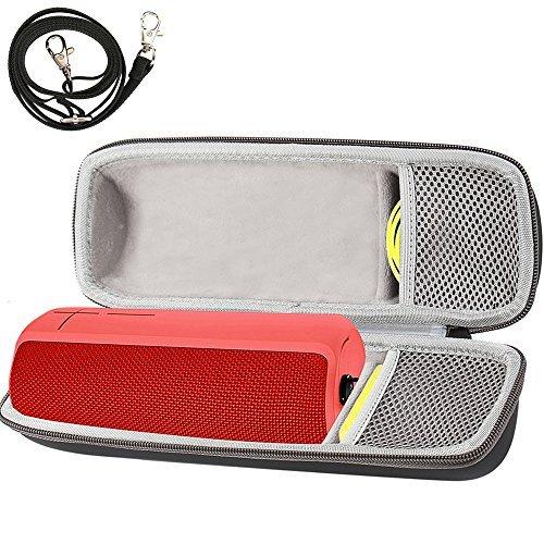 Travel Hard Case Tragetasche Hülle für Ultimate Ears UE BOOM 1/ BOOM 2 Bluetooth Lautsprecher. Passend für USB-Kabel und Ladegerät. Von Comecase