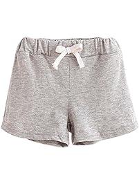 XXYsm Kinder Mädchen Jungen Shorts Sommer Baumwolle Kurze Hose Strand Sport  Hot Pants Unisex für Jungen d8942a7b0c