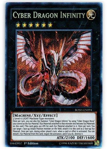 Yu-Gi-Oh! - Cyber Dragon Infinity (BOSH-EN094) - Breakers of Shadow - 1st Edition - Secret Rare by Yu-Gi-Oh! -