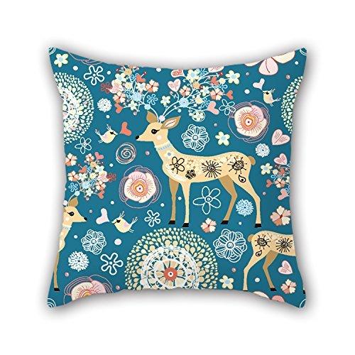 niceplw manta fundas de almohada de ciervo, para las niñas, sala de...