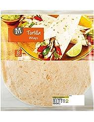 Morrisons White Tortilla Wraps, 8 Wraps 320g