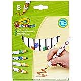 """Crayola - 8 """"Maxi"""" crayons de couleur - Loisir créatif - Mini Kids - à partir de 1 ans - Jeu de dessin et coloriage"""