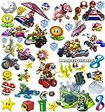 Mario Kart Aufkleber | Wandtattoo für Kinder