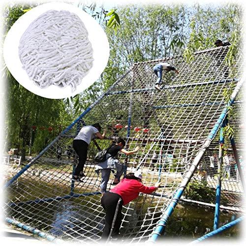 Outdoor Kind Kletternetz Gartendekoration Net Balkon Sicherheitsnetz Treppen Kinder Anti-Fall Kletternetz Kindergarten Schutznetz In Verschiedenen Größen Erhältlich ( Color : 5cm Mesh , Size : 3*3M )