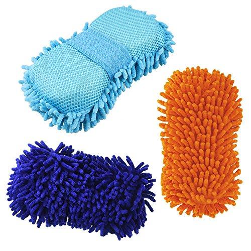 earthsafer-car-wash-mitt-pad-microfibre-chenille-cire-eponge-de-nettoyage-couleur-aleatoire