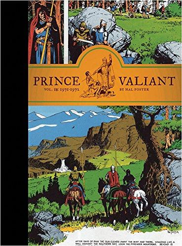 Prince Valiant Vol. 18: 1971-1972 por Hal Foster