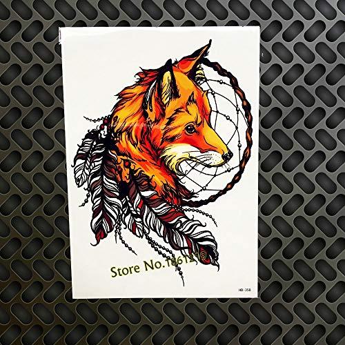 GVDTYKJF Tattoo Aufkleber Evil Eye Death Schädel Kopf Tattoos Body Art Arm Sleeve Tattoos Aufkleber Flash Wall Car Styling Ghb358 Flash Wall