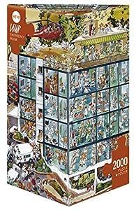 Heye - Heye-25784 - Puzzle Classique - Emergency Room - Loup - 2000 Pièces