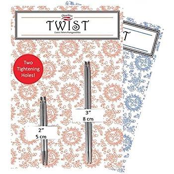 Chiaogoo Twist Red Lace Set remplaçables Aiguille Pointes COMPLETE 13 cm