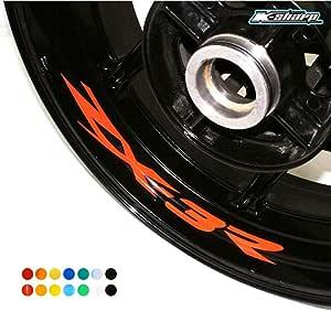 Psler Motorrad Innere Felgenaufkleber Reifenaufkleber Für Zx3r Auto