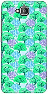 The Racoon Lean printed designer hard back mobile phone case cover for Huawei Honor Holly 2 Plus. (Grenn Tree)