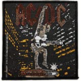 AC/DC ACDC Stiff Upper Lip Album Art Hard Rock Music Woven Sew On Applique Patch by Another Quality product supplied by klicnow
