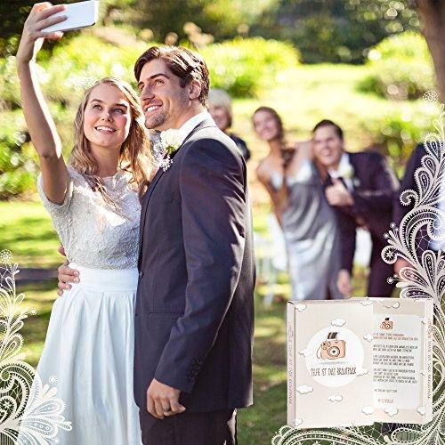 Hochzeitsspiel | Box mit kreativen und lustigen Fotoaufgaben - 5