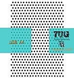 7UG Schablone, DIN A4, Lochschablone, Punkte, 5 mm, Points, Texturen für Künstler