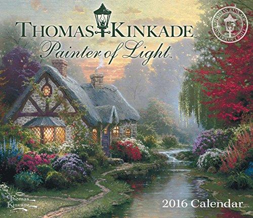 Thomas Kinkade Painter of Light 2016 Day-to-Day Calendar thumbnail