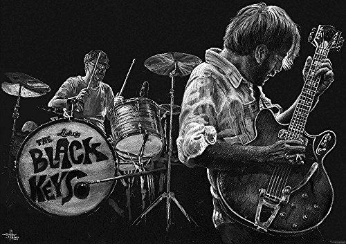 BLACK KEYS Poster BANDPICTURE Dan Auerbach Patrick Carney
