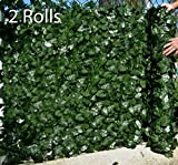 Best Artificial (TM) English Ivy Leaf Screening 3m x 1m Privacy Hedging Wall Landscaping Garden Fence **UV Fade Protected** (2)