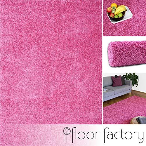 Floor factory Alfombra Moderna Colors Rosa Fucsia