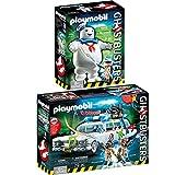 PLAYMOBIL 9220+9221 Ghostbusters™ Set - Ecto-1 und Marshmallow Man