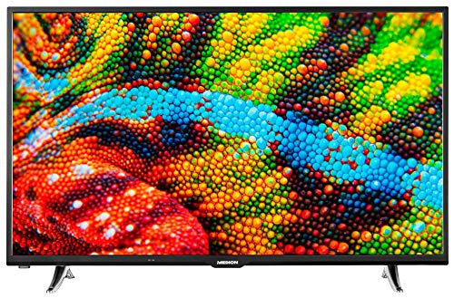 MEDION P15026 108 cm (50 Zoll) Full HD Fernseher (Smart-TV, Triple Tuner, DVB-T2 HD, Netflix App, PVR, DTS Sound, Bluetooth)