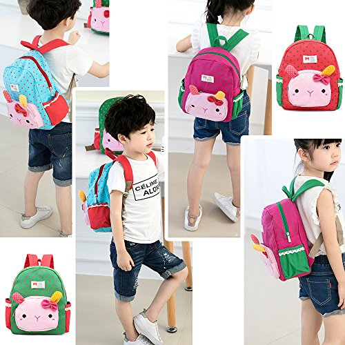 Imagen de  infantil niña guarderia gato animales preescolar niños saco viajar lindo niña bambino tela alternativa