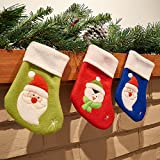 Prextex Small Christmas Stockings With C...