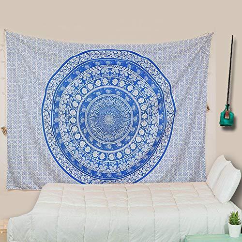 AIKAI Schlafzimmer hängen Mandala Flower Pink Digitaldruck Amazon Home Wandbild Vorhänge 150 * 150CM