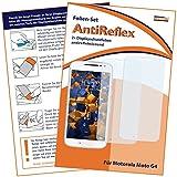 2 x mumbi Displayschutzfolie für Motorola Moto G4 Schutzfolie AntiReflex matt