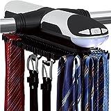Ster Automatische Motorisierte Revolving Tie und Gürtel mit LED-Licht Built-Rack