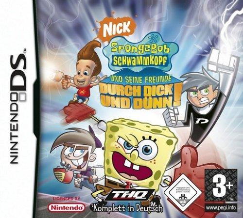 SpongeBob & Freunde - Durch dick und dünn (Nintendo Ds Nickelodeon Games)