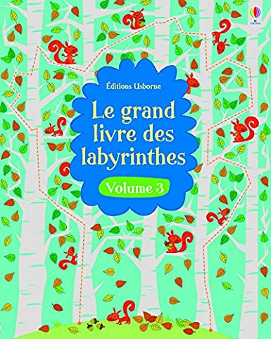 Le Labyrinthe Tome 3 - Le grand livre des labyrinthes - volume
