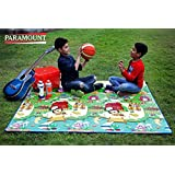 Paramount Waterproof Anti-Skid Double Sided Baby Play and Crawl Mat, 6x5ft (Multicolour, MAT002)