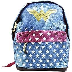 DC COMICS Wonder Woman Radiant - Mochila Freeetime para niños - 43cm - Color: Varios Colores