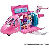 Barbie Mobilier l'Avion de Rêve pour poupées, avec mobilier, rangements et plus de 15 accessoires, jouet pour enfant…