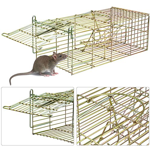 Generic qy-uk4-16 feb-20-2498 * 1 * * 4616 * * Live Animal Verwendung Ver-Lebendfalle, Ratten Mou Ratte Maus Ungeziefer E Trap Kontrolle in/out Tür UT Tür Catcher Pest ntrol in/out Tür