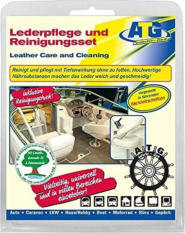 Bootspflege Lederpflege / Leder & Pflege - Set mit Lanolin, Avocado-Öl und Bienenwachs