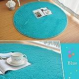2CM Silk weiche Shaggy Gebiet Runde Boden Teppichboden Startseite Anti-Rutsch-Yoga Hammock Bodenmatte Teppiche