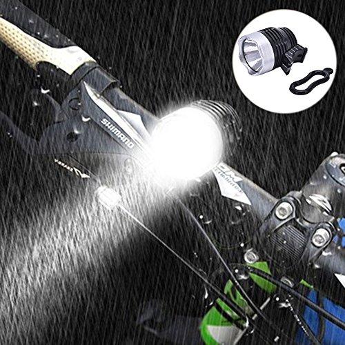 Wiederaufladbare LED-Scheinwerfer Bike Lights Set High Leuchtdichte Fahrrad Licht Scheinwerfer Scheinwerfer Radfahren Mountain Cycle Sicherheit Kopf Taschenlampe Pack Ladegerät Version Taschenlampe (Wiederaufladbare Scheinwerfer Taschenlampe)