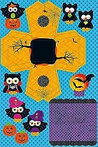 Ursus 22480099Juego de Manualidades, Paper Spooky Houses, búhos