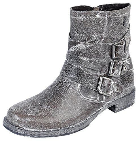 Rock Rebel by EMP Vintage Spray Boot Anfibi/Stivali marrone EU42