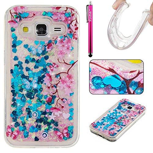 galaxy-g360-case-galaxy-core-prime-case-firefish-glitter-liquid-cover-slim-soft-tpu-rubber-silicone-