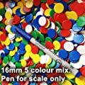Counters 100 x 16mm. 00501 by Kent & Cleal from Kent & Cleal Ltd.