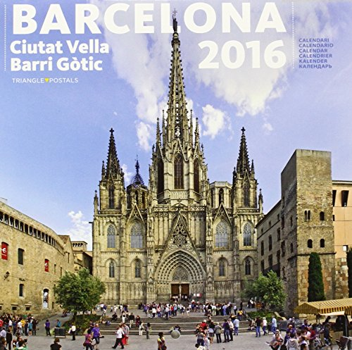 Calendari 2016 Barcelona 3 petit (barri gòtic)