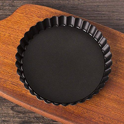 Antihaft-rund klein aus Flan/Quiche Pfanne, abnehmbarer lose unten Pizza Kuchen Backen Pie Pfanne-2Größe für Wählen 20 cm Wie abgebildet -