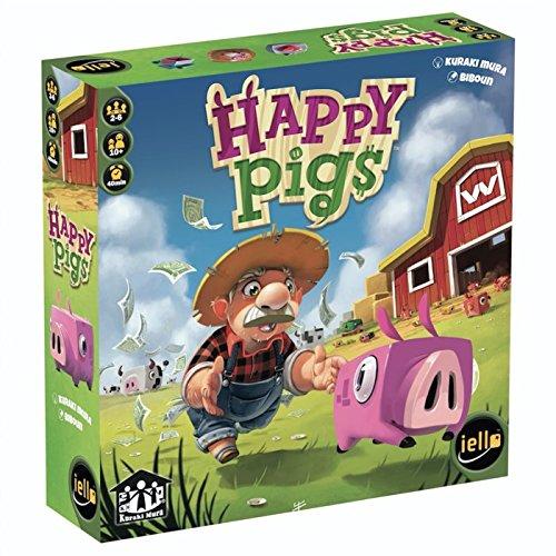 Iello 51289 - Happy Pigs Brettspiel