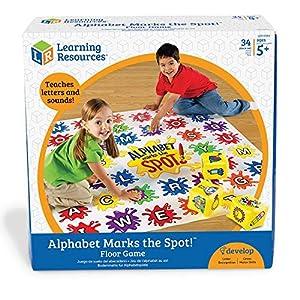 Learning Resources 1 Juego de Actividades de matemáticas Math Marks The Spot, Color (LER0394)
