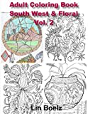 Adult Coloring book South West/Floral